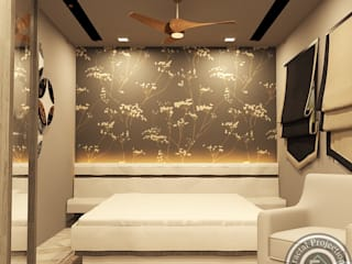 Master bedroom:   by Fractal Projections