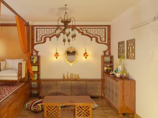 Аромат Марокко Гостиная в азиатском стиле от Студия дизайна интерьера 'ЭЛЬ ХОСЕ' Азиатский