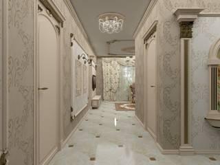 Мансарда в классическом стиле Коридор, прихожая и лестница в классическом стиле от Студия дизайна интерьера 'ЭЛЬ ХОСЕ' Классический