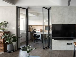 غرفة المعيشة تنفيذ 沐光植境設計事業