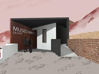Museo mina San José Materia prima arquitectos Pasillos, vestíbulos y escaleras industriales