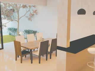 Proyecto OdA Comedores minimalistas de ARQUITECTO MANUEL VALENCIA CID Minimalista
