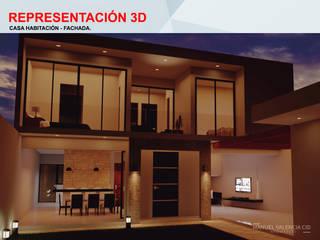 Proyecto OdA de ARQUITECTO MANUEL VALENCIA CID Minimalista