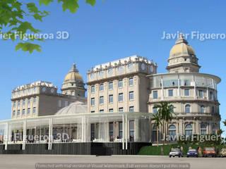 클래식 스타일 호텔 by Javier Figueroa 3D 클래식
