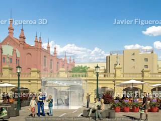 클래식 스타일 쇼핑 센터 by Javier Figueroa 3D 클래식