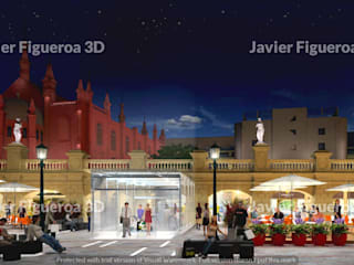Classic shopping centres by Javier Figueroa 3D Classic