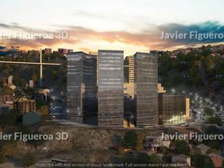 모던 스타일 쇼핑 센터 by Javier Figueroa 3D 모던