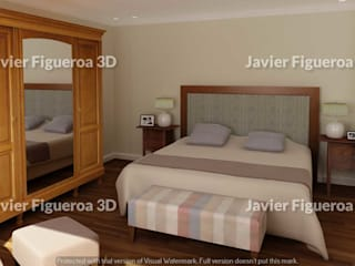 Javier Figueroa 3D Classic style bedroom