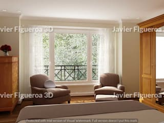 Javier Figueroa 3D Classic style living room