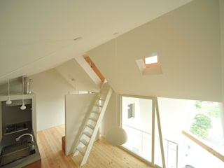 Takeru Shoji Architects.Co.,Ltd Escaleras