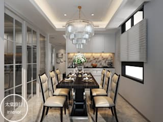 太棠設計 Modern dining room White