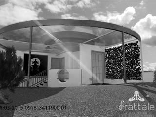 PROYECTOS CON METODOLOGÍA PATENTADA FRATTALE 2015 Balcones y terrazas modernos de Frattale Moderno