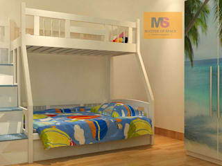 KIDS ROOM INTERIOR:   by Matter Of Space Pvt. Ltd.