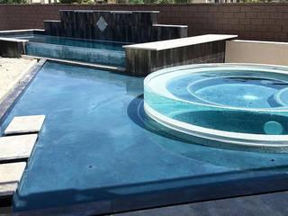 Underwater Window for swimming pool: modern  by Shanghai PG Aquariums & Landscaping Co., Ltd,Modern