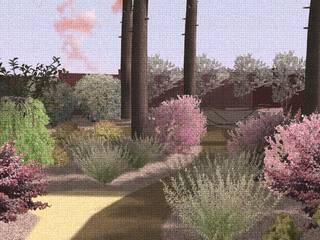 Общий вид: Сады в . Автор – Марина Михайлик