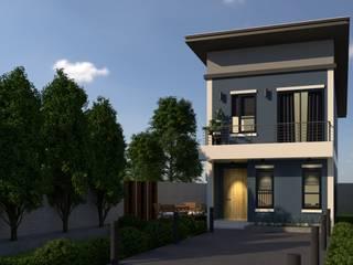 บริษัท พี นัมเบอร์วัน ดีไซน์ แอนด์ คอนสตรัคชั่น จำกัด Casas estilo moderno: ideas, arquitectura e imágenes