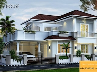 Thiết kế nội thất biệt thự trọn gói chuyên nghiệp - Nội Thất My House:   by Nội Thất My House
