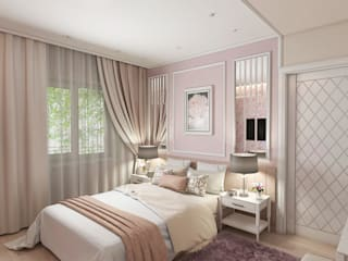 Bedroom by #martynovadesign, Classic