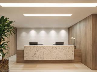 Decoração e Interiores Comercial: A Identidade da Clínica da Mão Clínicas modernas por BG arquitetura | Projetos Comerciais Moderno
