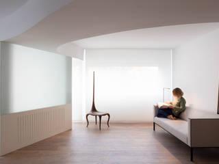 Vivienda GVFC Balzar Arquitectos Salones de estilo mediterráneo