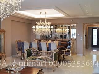 Classic style dining room by Hiba iç mimarik Classic