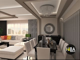 Modern Dining Room by Hiba iç mimarik Modern