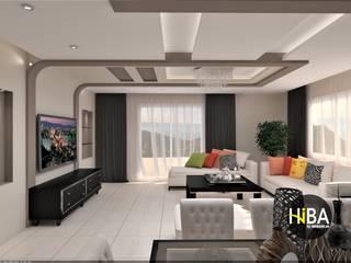 Salon moderne par Hiba iç mimarik Moderne