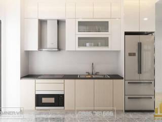 Thiết kế nội thất chung cư Nam An Khánh - Anh Hà - 80m2 bởi Thiết kế - Nội thất - Dominer