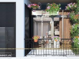 Thiết kế nội thất chung cư An Bình City chị Hương - 87m2 bởi Thiết kế - Nội thất - Dominer