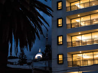 Modern Terrace by Taller Tlaiye Modern