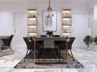 Thiết kế nội thất chung cư An Bình City – 84m2 - chị Quỳnh bởi Thiết kế - Nội thất - Dominer