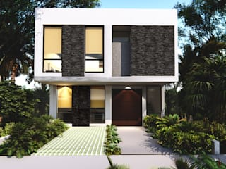 Single family home by Taller Veinte,