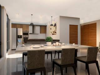 Dining room by Taller Veinte,