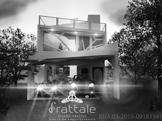PROYECTOS CON METODOLOGÍA PATENTADA FRATTALE 2017: Casas ecológicas de estilo  por Frattale