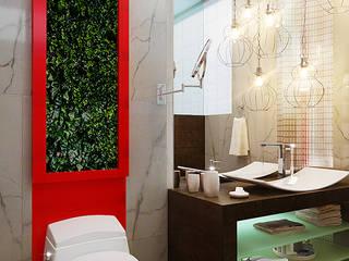 Minimalist style bathroom by KORBA Arquitectos Minimalist