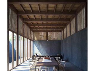 Casa Betania Comedores modernos de NAAG arquitectura Moderno
