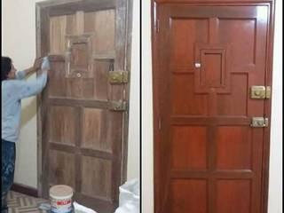 mantenimiento de madera :  de estilo  por servi colors paco