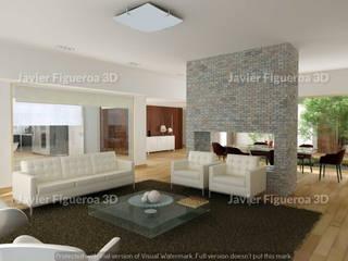 Modern Oturma Odası Javier Figueroa 3D Modern