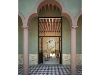 Hotel Boutique Iturbide Jardines modernos de NAAG arquitectura Moderno