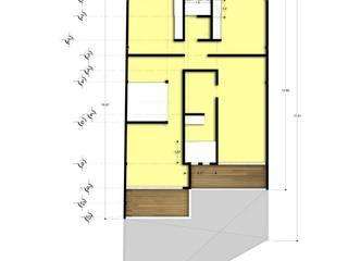 CASA TARANGO Dormitorios modernos de NEXTIYOTL + ARQUITECTOS Moderno