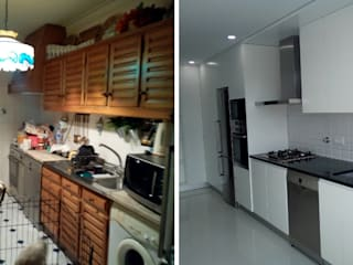 Moderne Küchen von Obr&Lar - Remodelação de Interiores Modern