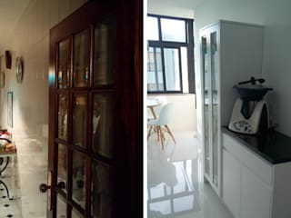 모던스타일 주방 by Obr&Lar - Remodelação de Interiores 모던