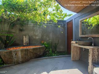 Kamienna Wanna W Hotelu / SPA - Wanny Z Kamienia Naturalnego: styl , w kategorii Spa zaprojektowany przez Lux4home™