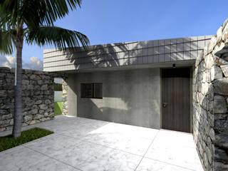 Wall House por Limit Studio Moderno