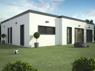 Trenta Casas Prefabricadas de Hormigón en Madrid Prefabricated home Concrete White