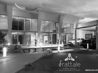 PROYECTOS CON METODOLOGÍA PATENTADA FRATTALE 2018: Casas de estilo  por Frattale