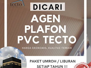 Dicari Agen & Distributor Plafon PVC TECTO di Seluruh Indonesia Oleh Tecto Plafon Asia
