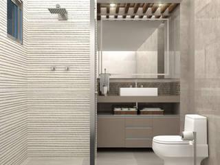 Baños de estilo moderno de Vilaville Moderno
