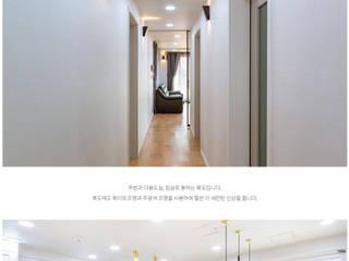 [인천광역시] 세련미가 돋보이는 '모더니즘' 모던스타일 거실 by 한글주택(주) 모던