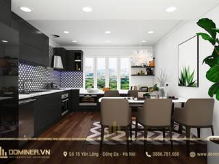 Thiết kế nội thất chung cư hiện đại Lạc Long Quân - Anh Hùng bởi Thiết kế - Nội thất - Dominer